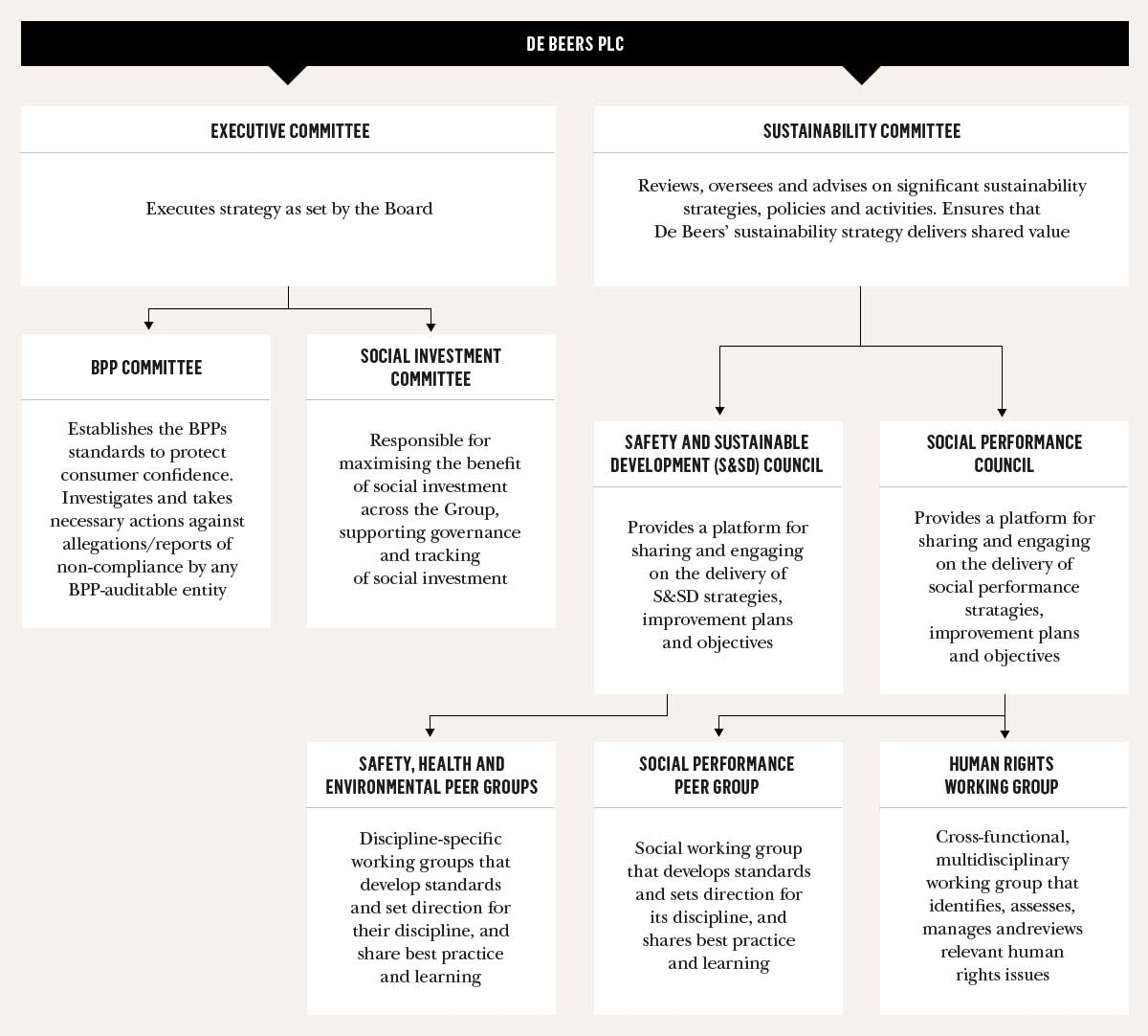 Our Principles and Policies – De Beers Group